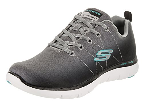 Black Basses Skechers Energy High M Appeal Femme 0 Baskets 37 2 Flex Gray EU Multicolore qxOTq0