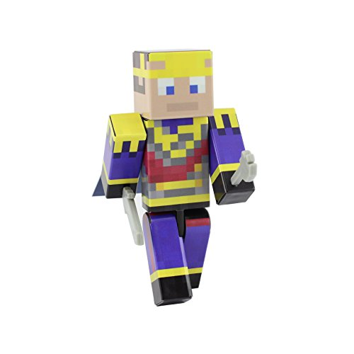 [Royal King Action Figure Toy, 4 Inch Custom Series Figurines by EnderToys] (Ghast Minecraft Costume)