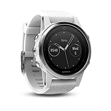 Garmin Fenix 5S White with Carrara White Band