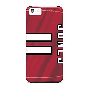 GAwilliam Snap On Hard Case Cover Atlanta Falcons Protector For Iphone 5c