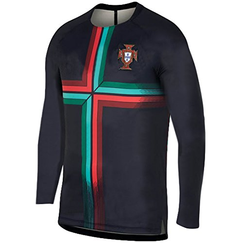 promo code 875d2 83660 PFC Ronaldo Jersey Portugal Away Long Sleeve Kids Soccer Cristiano Ronaldo  Jersey Soccer Gift Set Youth Sizes ✓ Premium Quality ✓ Soccer Backpack Gift  ...