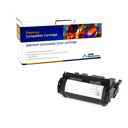 (AIM Compatible Replacement for Olivetti 911867 Toner Cartridge (17600 Page Yield) - Compatible to Lexmark 1382625 - Generic)