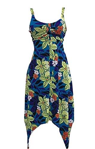 Size Spaghetti Sleeveless Irregular Jaycargogo Dress Plus Print Sexy Mini Women 5 tw1WWxq76