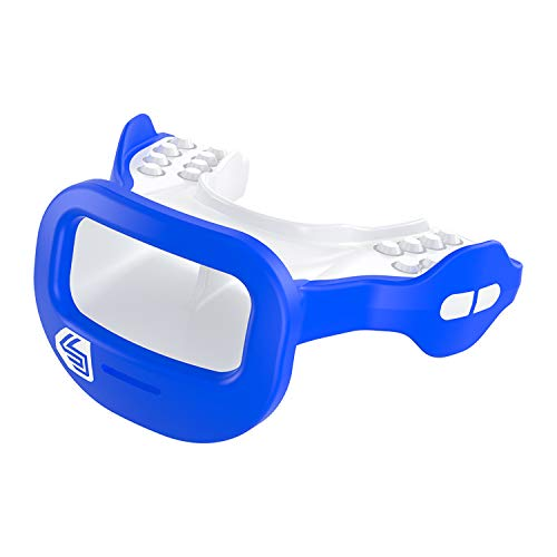 Shock Doctor 3700 Mutant Mouth Guard, Royal, One Size