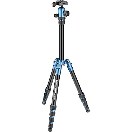 Manfrotto Tripod, Lightweight Element Traveler Small Blue (MKELES5BL-BH)