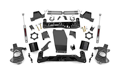 "Rough Country 6"" Lift Kit (fits) 14-17 Chevy Silverado GMC Sierra 4WD"