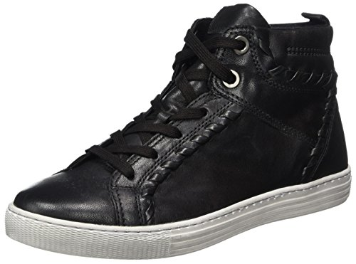 Comfort Derby Zapatos Mujer 37 Negro de Gabor Micro Shoes Schwarz Cordones Basic para RqOOAxU