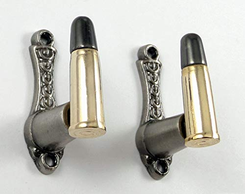 Pistol Bullets - Bullet Design Sword Pistol Knife Gun Wall Hanger Hook Display Bracket Mount Rack