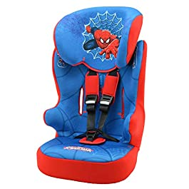 Car seat DISNEY Group 1/2/3 From 9 to 36kg – Made in France – 7 Characters -Tested and certified European standard ECE R44 / 04