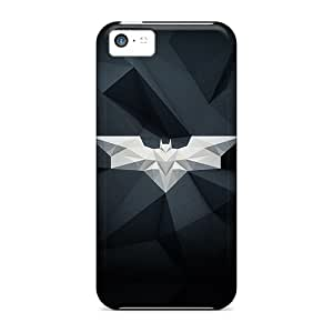 Ultra Slim Fit Hard S.N.H Case Cover Specially Made For Iphone 5c- Batman Dark
