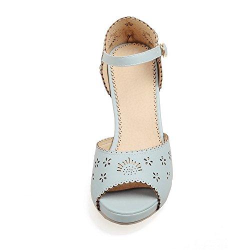 Adee , Sandales pour femme - Bleu - bleu, 38 EU