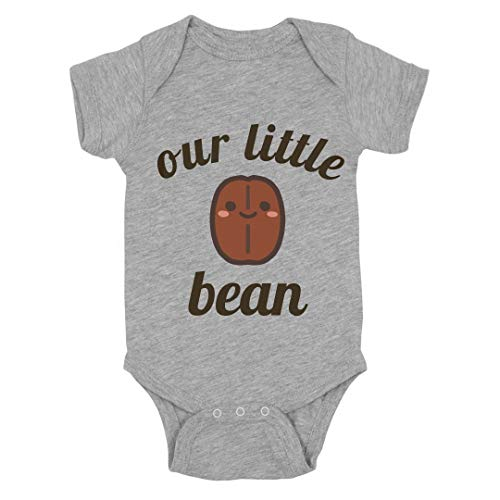 Our Little Baby Bean: Infant Bodysuit Heather Grey ()