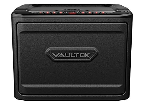 Vaultek Essential Series Quick Access Handgun Safe with Auto Open Lid Pistol Safe Rechargeable Lithium-ion Battery (Not Compatible with Smart Key) (MXE (High Capacity))
