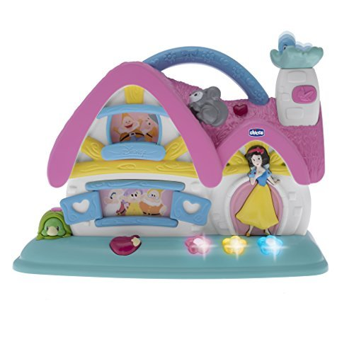 Chicco Snow White and 7 Dwarfs Musical Cottage by Disney (Dwarfs Cottage)
