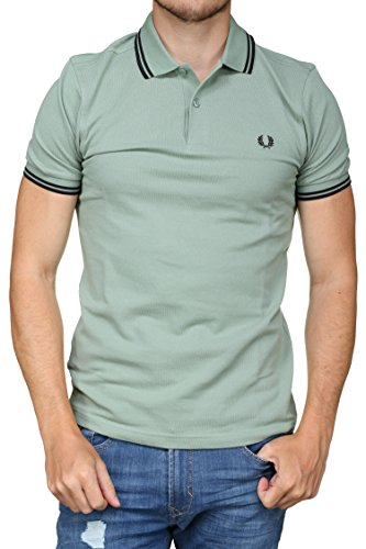 Twin Tipped Green Perry Uomo Bay Fred Polo Fp BEtZPTxqqw