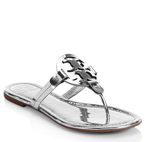 Tory Burch Flip Flop Mini Miller Flat Sandal Leather