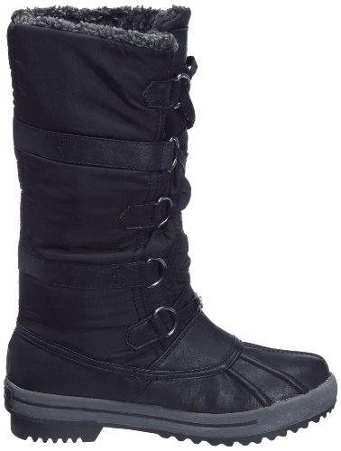 KangaROOS Icepacker 31539/302 Damen Stiefel Schwarz/Blk/Charcoal
