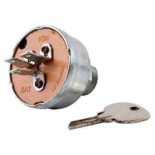 (60736C1 Ignition Switch w/Key fits Cub Cadet 100 102 122 123 Lo Boy 154 184 185 )