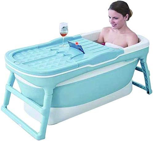 アダルト折りたたみバスタブポータブルバスタブバスバレルフルボディ世帯の子供プラスチックスパお風呂バケツアンチ滑りやすい断熱