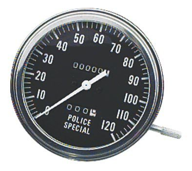 """1981 Harley Davidson FLHC Electra Glide Classic 5in. FL Type Speedometer - 2:1 Ratio Front Wheel Drive - Police Special, Manufacturer: Bikers Choice, 5"""" FL TYPE SPEEDOMETER"""