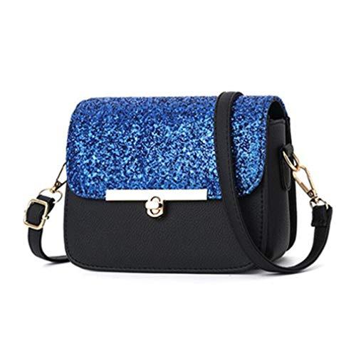 Messenger Crossbody Bags Travel Shoulder Blue Women Shopping Deep Blue Deep wqSwEvIn4
