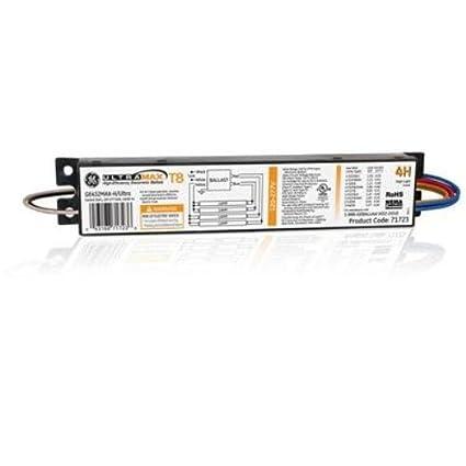 GE Lighting 71723 GE432MAX-H/ULTRA 120/277-Volt UltraMax Electronic on