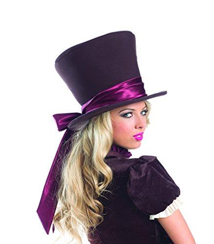 Alice in Wonderland Mad Hatter Hat Halloween Party Costume Accessory (Ladies Alice In Wonderland Costume)