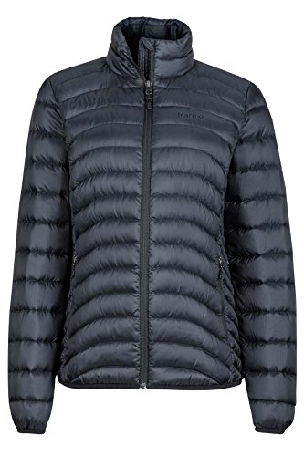 Marmot Aruna Women's Down Puffer Jacket, Fill Power 600, Jet Black, Medium