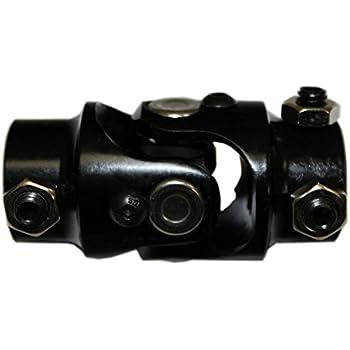 """8/"""" Polished Steering Shaft SS U Joints 3//4/""""DD x 3//4/""""DD /& 3//4/""""DD x 13//16/""""-36 GM"""
