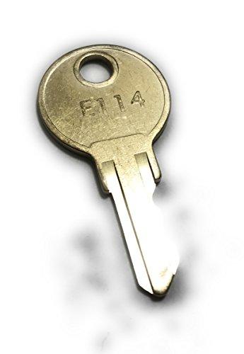 ASI E114 Key, Commercial-Grade Key Fits All ASI Towel Dispensers & ASI Toilet Paper Dispensers (EA) - Dispenser Key
