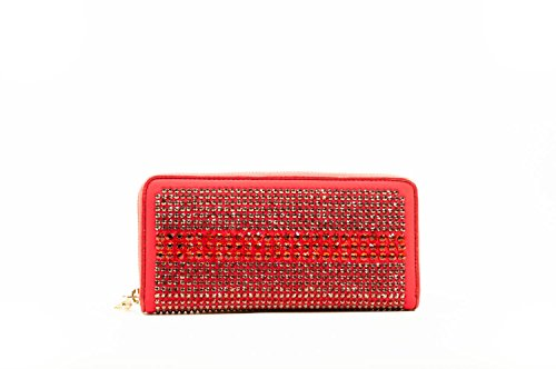Saffiano Pinko print lether red wallet Sartene qnqBPwz1A