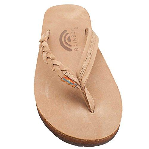 d490c85bc41 85%OFF Rainbow Sandals Women s Flirty Braidy Single Layer Classic Leather  Sandal