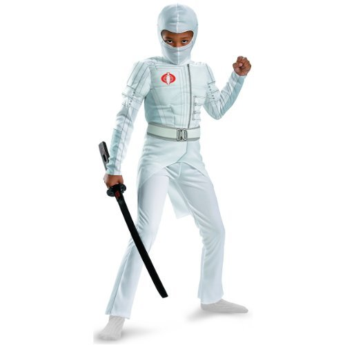 Storm Shadow Deluxe (Storm Shadow Light-up Deluxe Muscle Child Costume - Small)