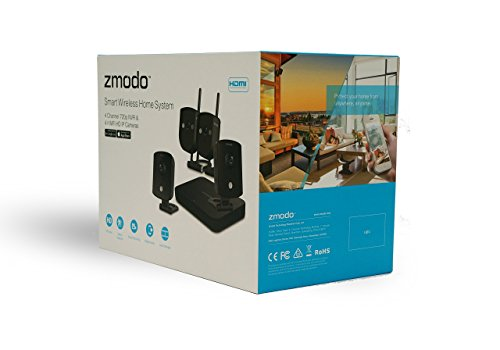 Zmodo-ZM-KW1002-1TB-720p-HD-Smart-Wireless-Home-Kit-with-4-Indoor-Wi-Fi-Security-Camera-Black