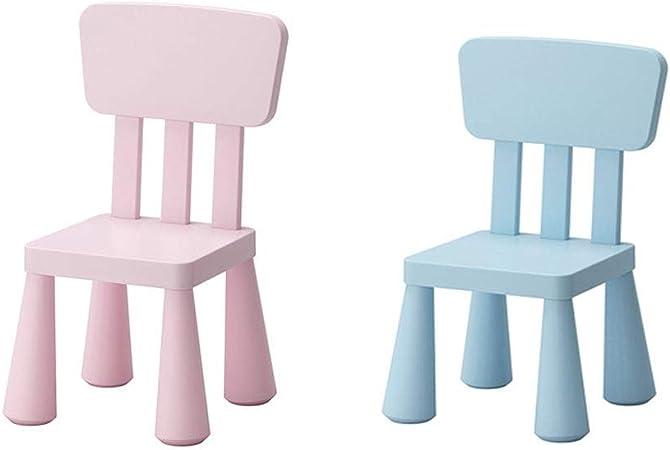 Chaise de jardin à dossier bas en plastique, chaise de pique ...