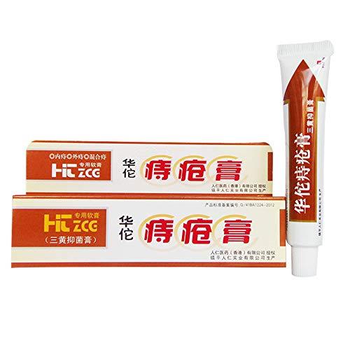 5 Pcs Hua Tuo Hemorrhoids Ointment Herbal Materials Powerful Cream External Anal Fissure Internal Mixed Hemorrhoids Quality Goods (Best Thing For External Hemorrhoids)