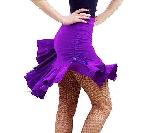 KAI-ROAD Womens Latin Dance Skirt Ballroom Tango