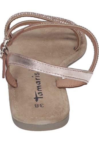 Tamaris 22 28113 1 Glam Pulsera Mujer Para Con 1 Sandalia copper 929 Dorado FFATqfx6w