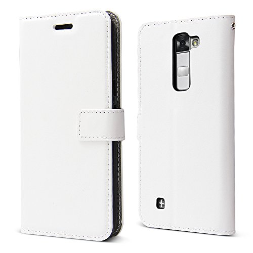Belk Lg Stylo 2 Case   Lg Stylo 2 V Case  Luxury Slim Pu Leather Flip Protective Magnetic Wallet Cover Case With Card Slot And Stand Feature For Lg Stylo 2Nd Gen  Ls775   Vs835   White