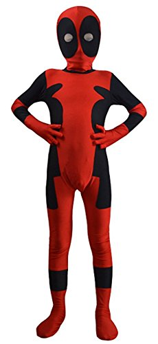 Mark Costume Kids Deadpool Costume (Large, Kids) -
