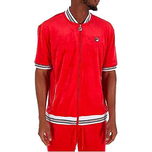 Fila Carezzi Velour Jacket Red