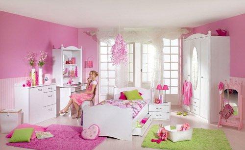 lifestyle4living Jugendzimmer 4-TLG. in Alpinweiß, Schrank B: 146 cm, Schreibtisch B: 110, Schreibtischaufsatz B: 101 cm, Liege 90 x 200 cm