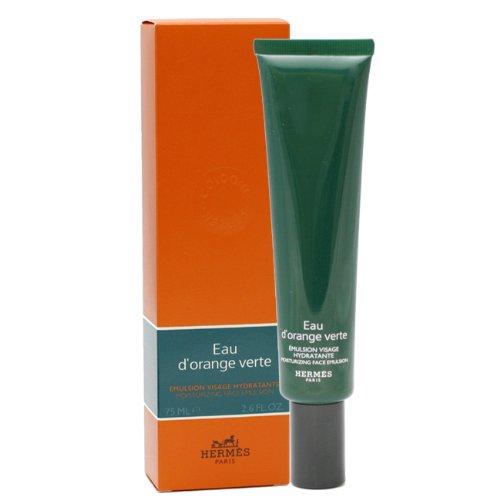 Hermes Eau D' Orange Verte By Hermes For Men Moisturizing Face Emulsion, 2.6-Ounce / 75 Ml