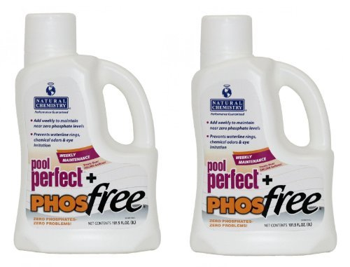 Natural Chemistry Pool Perfect Plus Phos-Free - 2 x 3 Liter by Natural Chemistry