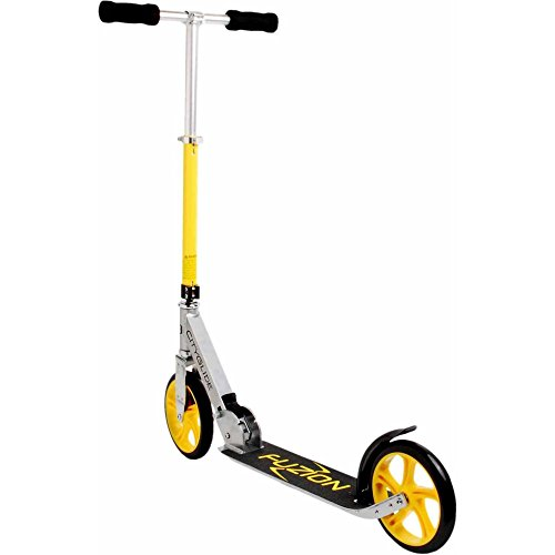 Foldable Scooter CityGlide Cruising, Yellow