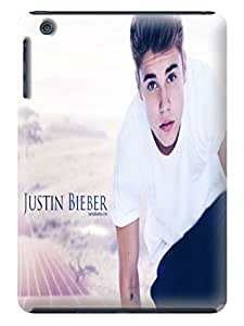 2014 Hot fashionable Justin Bieber Super Hard TPU Patterns for ipad mini Case