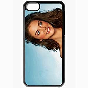 Personalized iPhone 5C Cell phone Case/Cover Skin Amazing Babe Lauren B Aprilmonday Versionone Black