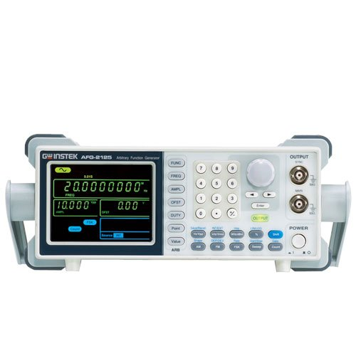 (GW Instek AFG-2225 Dual-Channel Arbitrary Function Generator, 1Hz to 25MHz Frequency Range)