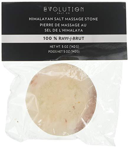 Evolution Salt - Round Flat Crystal Salt Stone 5 oz