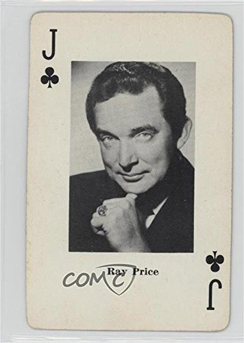Ray Price (Trading Card) 1967 Heather Enterprises Country Music Playing Cards - [Base] #JC from Heather Enterprises Country Music Playing Cards